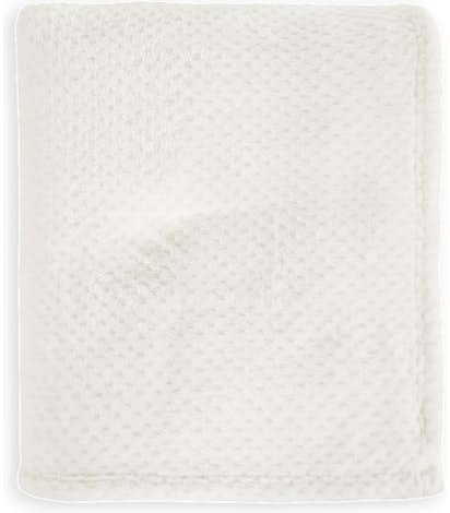 Port Authority Plush Texture Blanket - Marshmellow