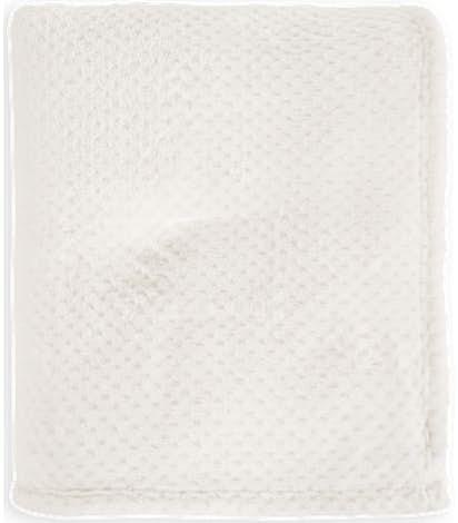Port Authority Plush Texture Blanket - Marshmellow