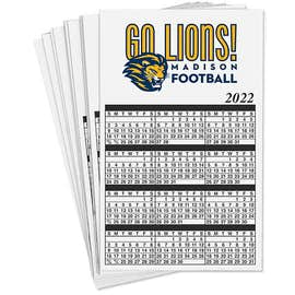Full Color Calendar Magnet - .036""