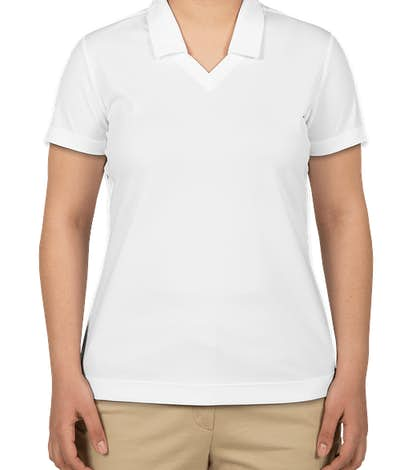 Nike Golf Women's Dri-FIT Micro Pique Performance Polo - White