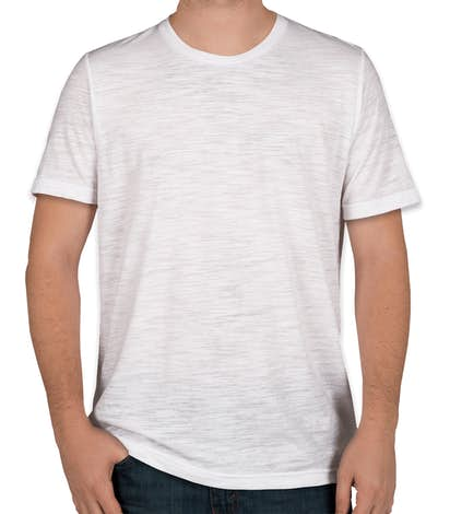 Bella + Canvas Slub T-shirt - White Slub