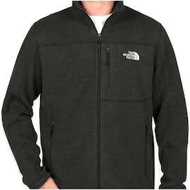The North Face Sweater Fleece Jacket - Color: Black Heather