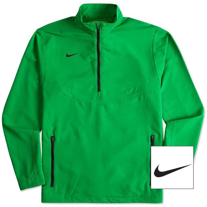 wholesale sales website for discount look out for Nike Golf Half Zip Windbreaker