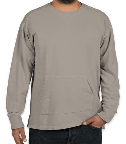 Comfort Colors French Terry Crewneck Sweatshirt - Grey