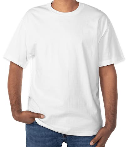 Hanes Beefy-T - White