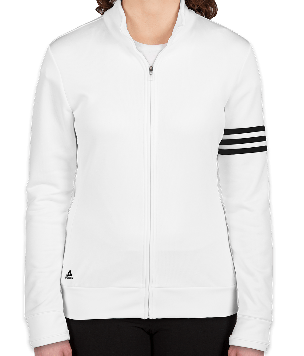 Custom Adidas Women S Climalite Full Zip Performance Sweatshirt