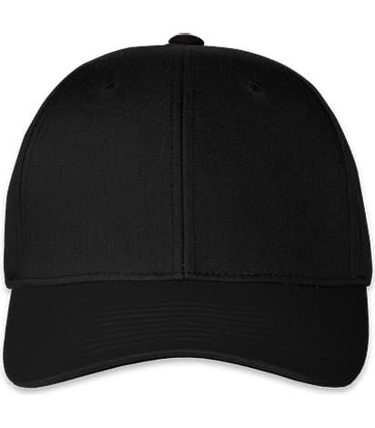 Pacific Headwear Pro-Wool Adjustable Hat - Black