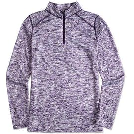 Badger Women's Heather Quarter Zip Performance Shirt