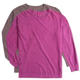 Comfort Colors Women's Drop Shoulder Long Sleeve T-Shirt