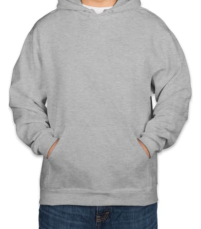 Jerzees Super Sweats® 50/50 Pullover Hoodie - Ash