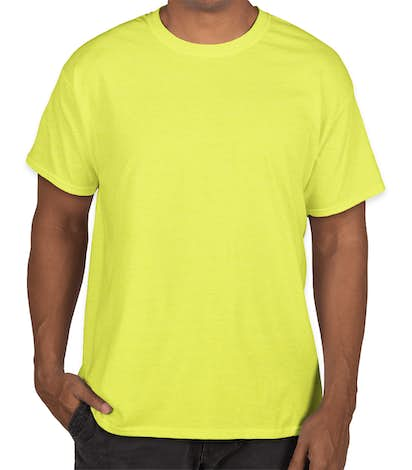 Hanes X-Temp T-shirt - Neon Lemon Heather