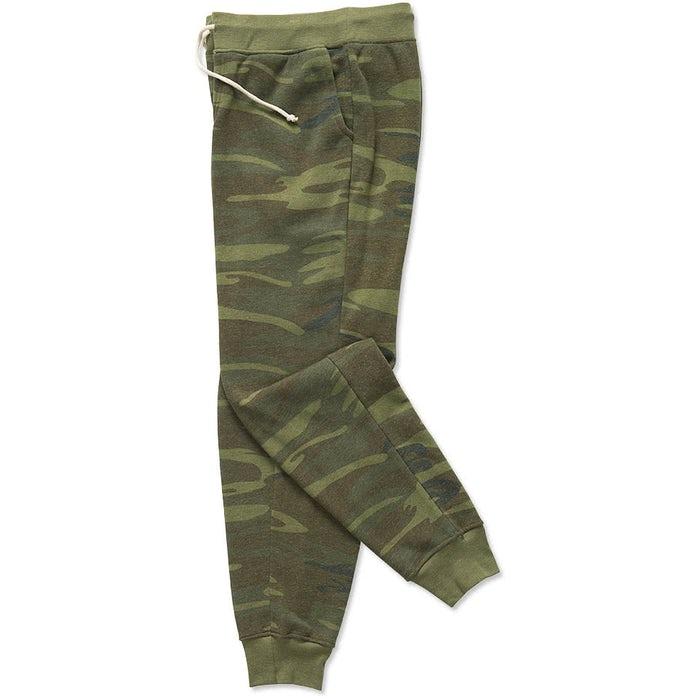 4b70f4362c7 Custom Alternative Apparel Camo Jogger Sweatpants - Design ...