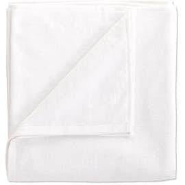 Heavyweight White Screenprinted Beach Towel