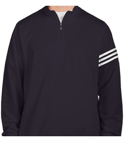 9454e17e3c1f Custom Adidas ClimaLite Quarter Zip Performance Pullover - Design ...