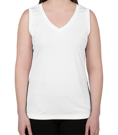 Canada - ATC Women's Competitor Performance Sleeveless Shirt - White