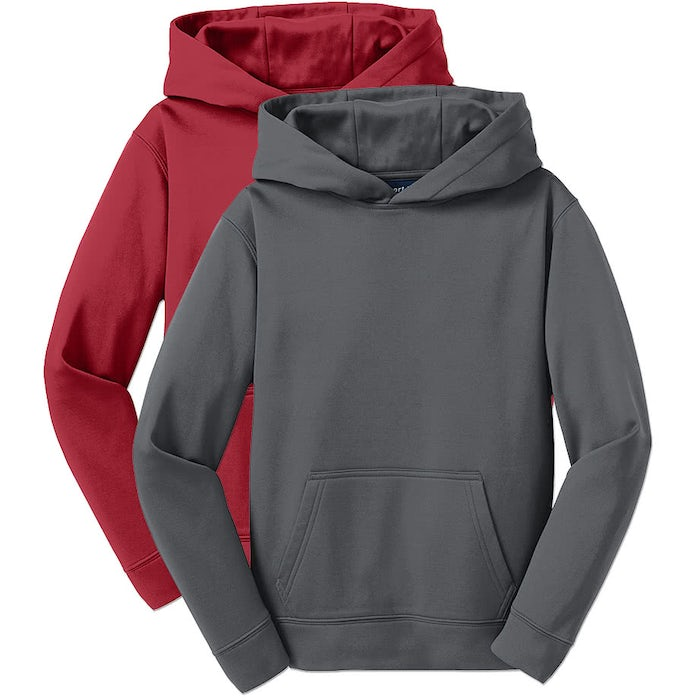 Custom Sport Tek Youth Performance Pullover Hoodie Design Kids Sweats Online At Customink Com So throw in the activewear as you dress into compression shirts, hoodies, leggings, and yoga pants and follow these quarantine activewear trends while on lockdown. custom ink