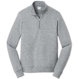 Port & Company Fan Favorite Quarter Zip Sweatshirt