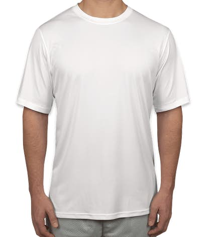 Champion Short Sleeve Performance Shirt - White