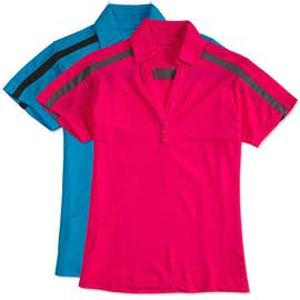 Port Authority Women's Silk Touch Colorblock Performance Polo