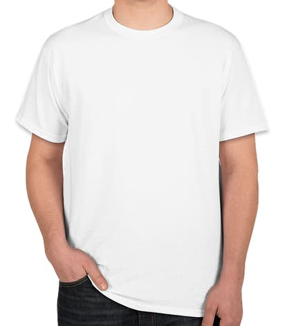 Canada - Fruit of the Loom 100% Cotton T-shirt - White