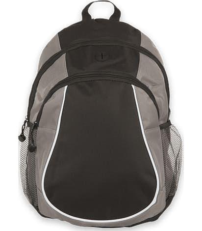 Coil Two Pocket Basic Backpack - Grey