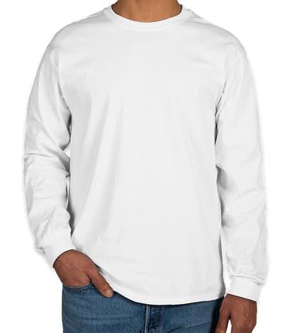 Gildan Ultra Cotton Long Sleeve T-shirt - White