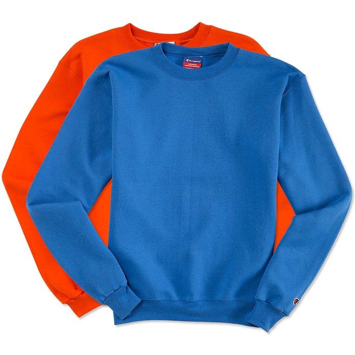 db6b2cb9 Custom Champion 50/50 Eco Crewneck Sweatshirt - Design Crewneck ...