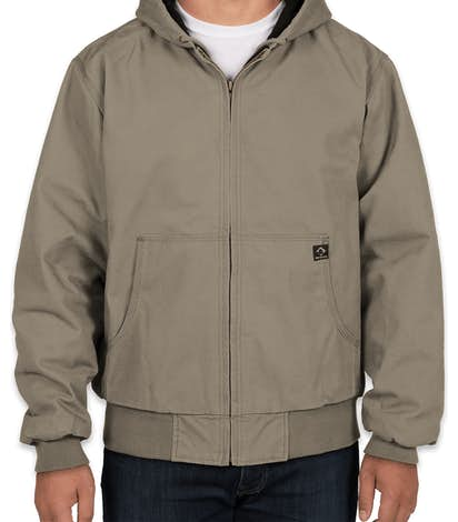 huge selection of 87a5a ab01d Dri Duck Cheyenne Hooded Boulder Cloth™ Work Jacket - Gravel