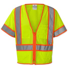 ML Kishigo Class 3 Pocket Mesh Safety Vest