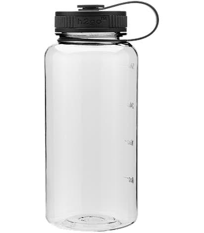 34 oz. h2go Wide Water Bottle - Clear