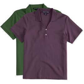 Devon & Jones Women's Pima Pique Polo