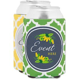 Moroccan Tile Foldable Can Cooler