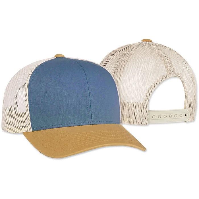 Custom Pacific Headwear Snapback Trucker Hat - 在 CustomInk.com 在线设计卡车司机帽