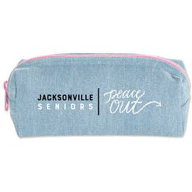 Small Denim Pencil Case
