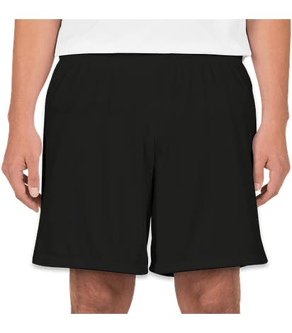 High Five Contrast Performance Shorts - Black / White