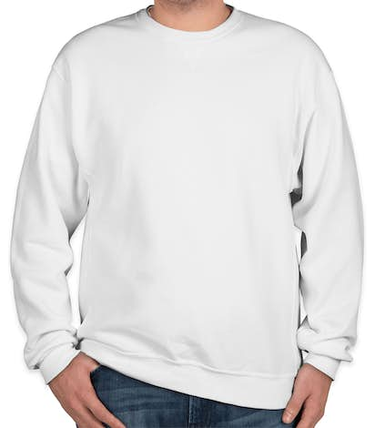 Russell Athletic Dri Power® Crewneck Sweatshirt - White