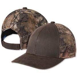 Port Authority Pigment Dyed Camo Trucker Hat