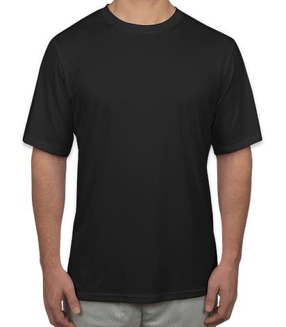 Champion Short Sleeve Performance Shirt - Black