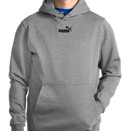Puma Essential Pullover Hoodie - Color: Medium Grey Heather