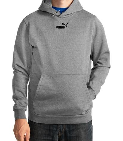 Puma Essential Pullover Hoodie - Medium Grey Heather