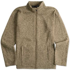 Devon & Jones Full Zip Sweater Fleece Jacket