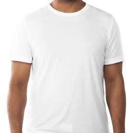 Bella + Canvas Tri-Blend T-shirt - Color: Solid White Tri-Blend