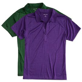 Sport-Tek Women's Heather Performance Polo - Embroidered