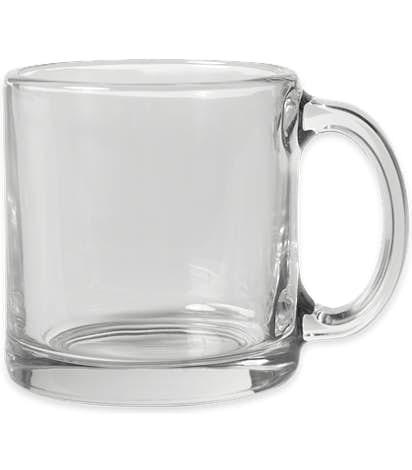 13 oz. Clear Glass Coffee Mug - Clear