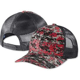 Port Authority Digital Camo Snapback Trucker Hat