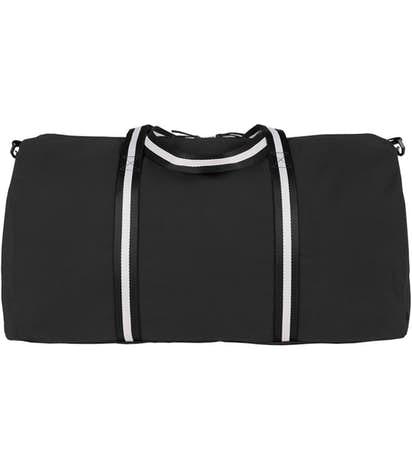 Large Cotton Weekender - Black