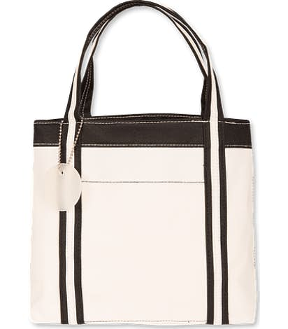 Piccolo Mini Tote - Natural / Black