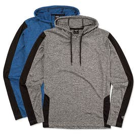 Rawlings Heather Colorblock Performance Hooded Shirt