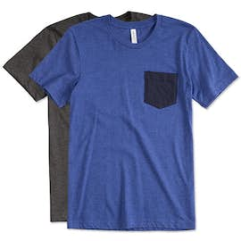Bella + Canvas Jersey Contrast Pocket T-shirt