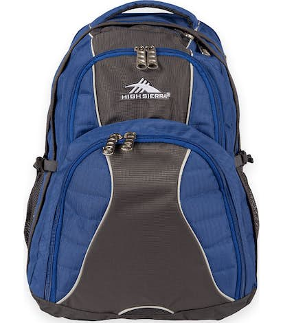 "High Sierra® Swerve 17"" Computer Backpack - Royal"